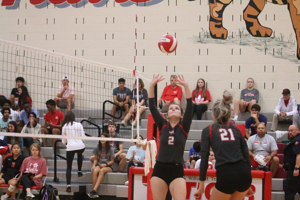Travis volleyball falls to Austin