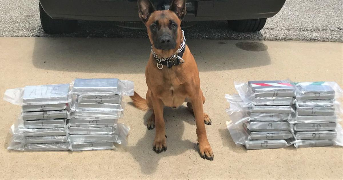 Traffic stop nets $1.4 million in cocaine