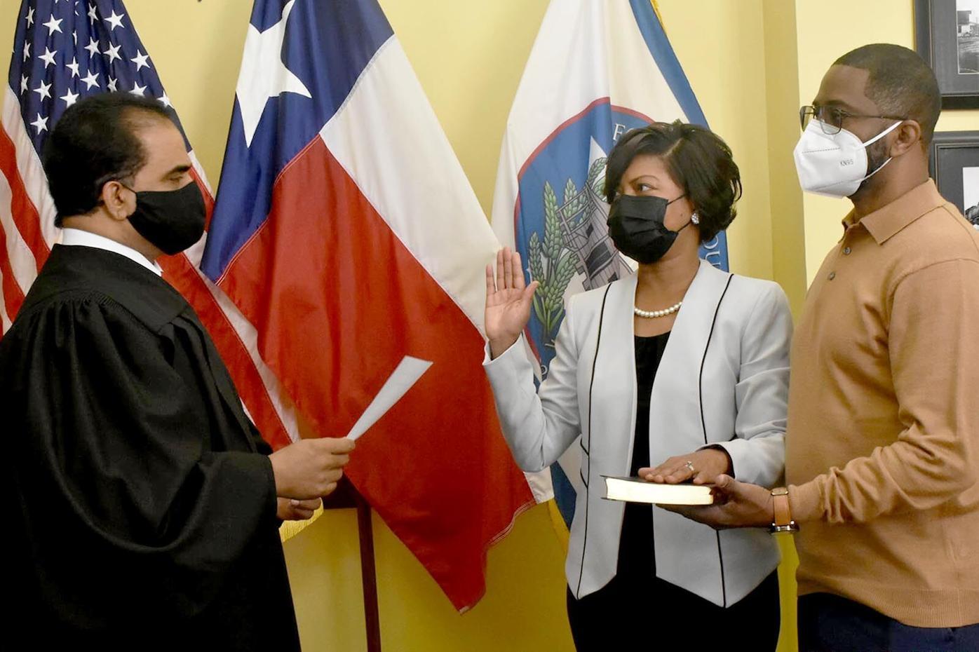 Judge KP George & Judge LaTosha McGill Clayton