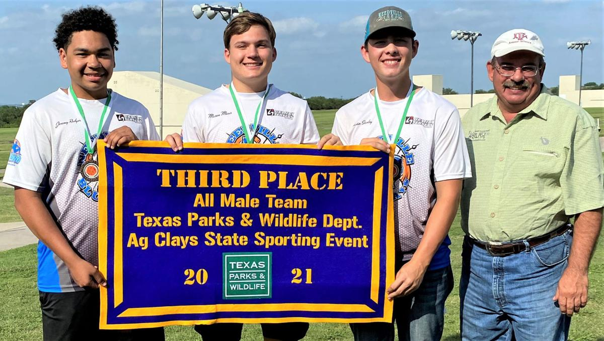 Third place all-male team