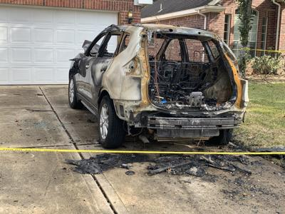 Fort Bend County sheriff's deputy's car, home targeted
