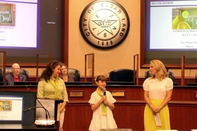 Greatwood girl speaks on behalf of Lemonade Day