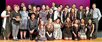 Needville acting troupe advances to Area competition