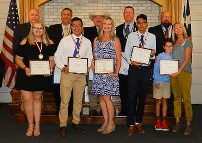 MORTON LODGE PRESENTS THE 20TH ANNUAL A. J. RAMOS SCHOLARSHIPS