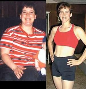 Tanya Lane has lost 80 pounds since using the Taebo system of ...