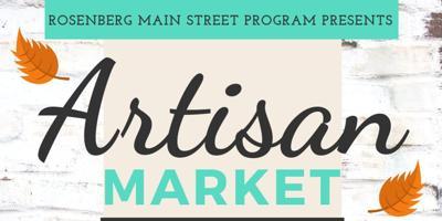 Rosenberg's 1st Artisan Market is this weekend