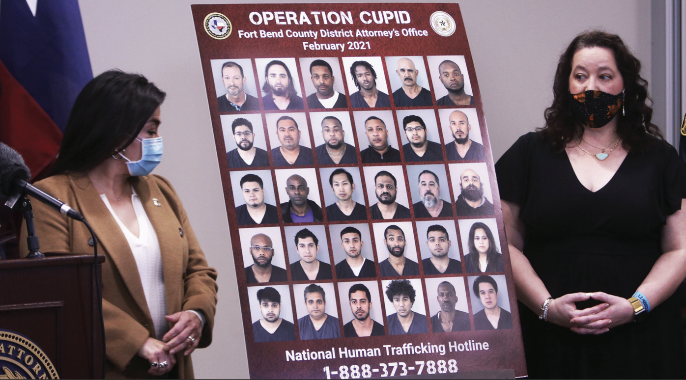 Operation Cupid rescues human trafficking victim