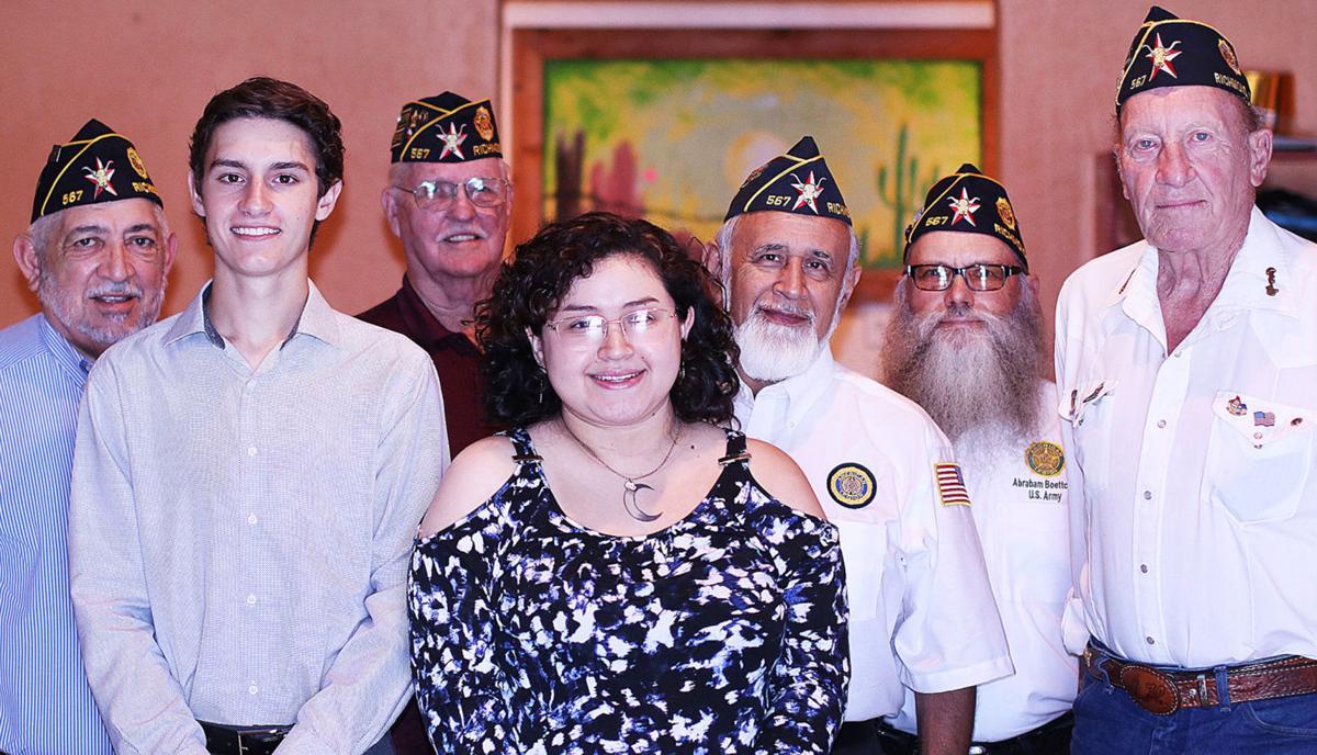 American Legion Post 567 Auxiliary awards scholarship
