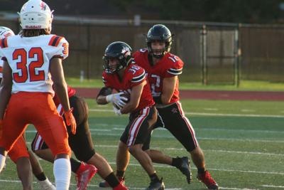 Rangers routed by Bush, 28-6