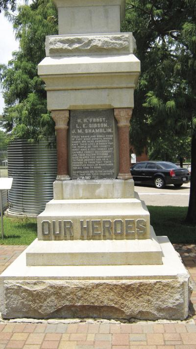 """Jaybird """"Our Heroes"""" Monument"""