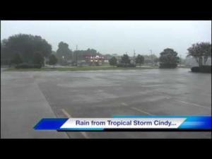 Thunderstorm in Rosenberg