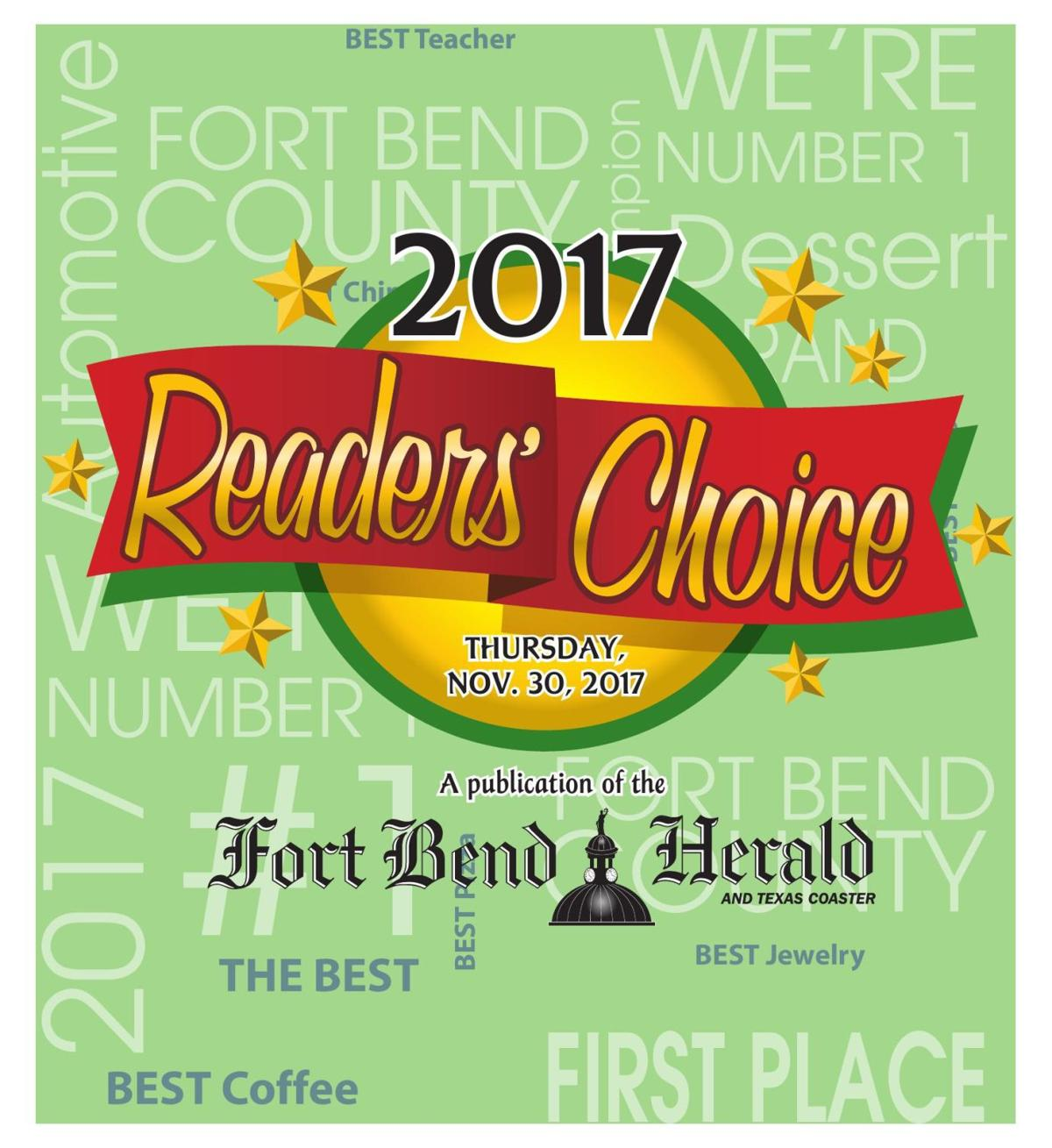 The Fort Bend Herald's 2017 Reader's Choice