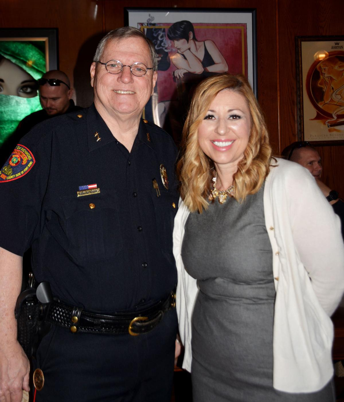 Meeting the police chief