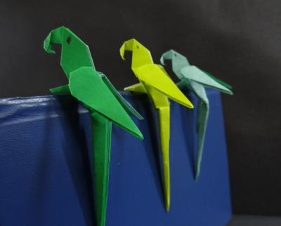 LEARN HOW TO MAKE PARROTS & STINGRAYS AT LIBRARY'S JAPANESE ORIGAMI CLASS