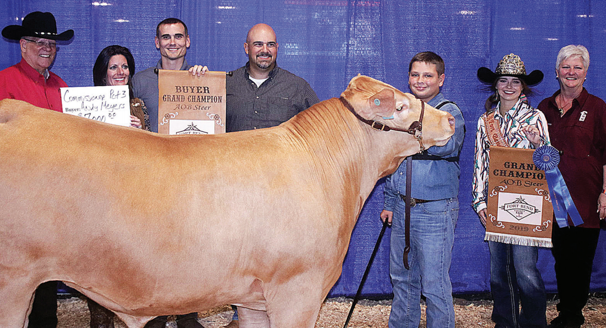 Grand and reserve champ livestock fetches $83,700 at Fair's junior auction