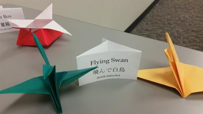 LEARN HOW TO MAKE SWANS & DOLPHINS AT LIBRARY'S JAPANESE ORIGAMI CLASS