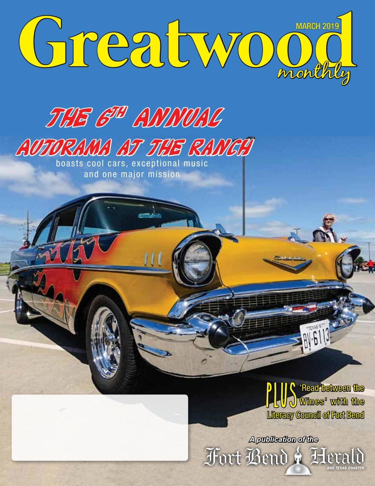 Greatwood Monthly: March 2019