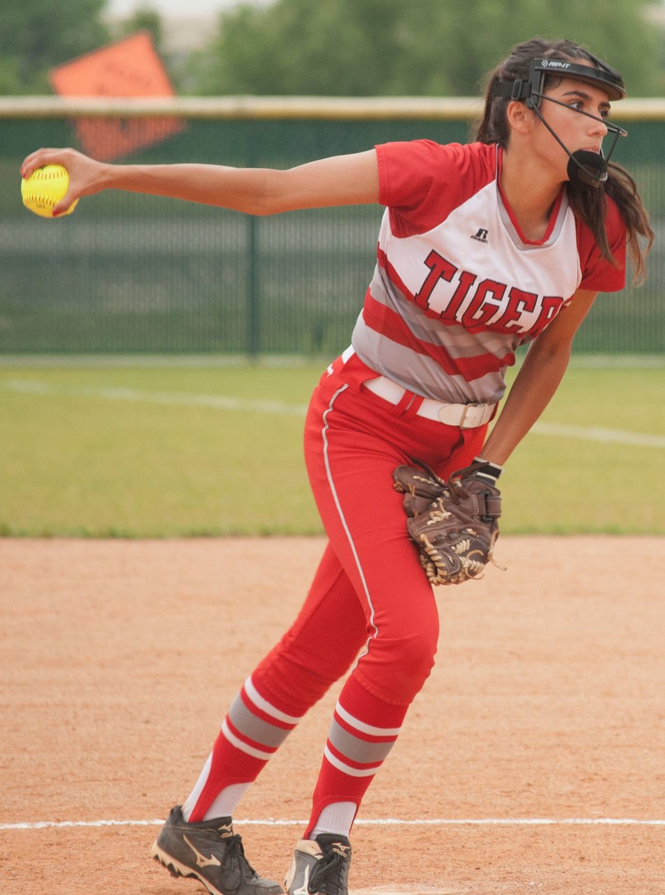 Lady Tiger pitcher named first-team all-district