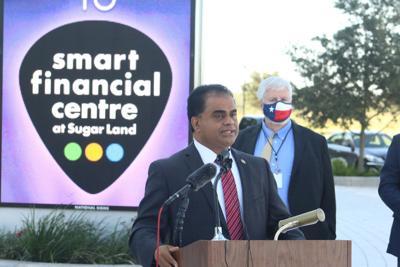 George announces Smart Financial Centre as 'mega voting site'