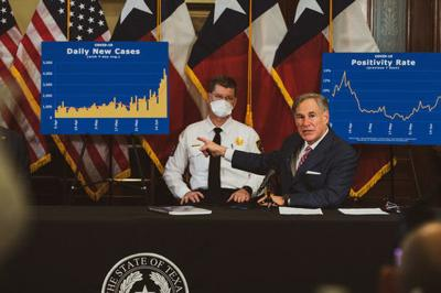 Governor recommends Texans wear face masks in public