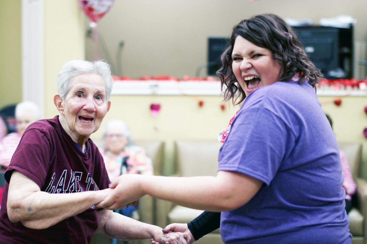 Humphrey recalled for her love of community