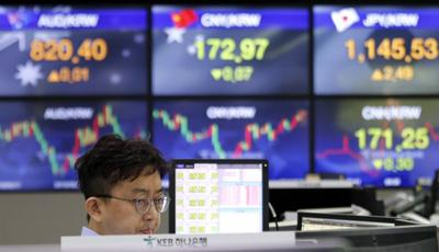 Global stocks rise after volatile Wall Street day