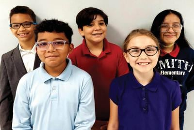 Smith Elementary journalism class contributes to campus newsletter