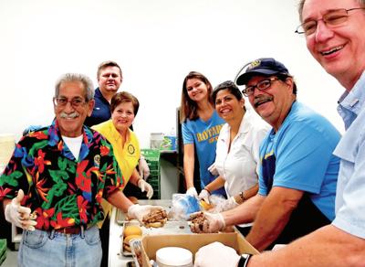Richmond Rotary serves free meals to Boys & Girls Club