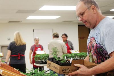 Master Gardner's plan Fall Vegetable-Herb Plant Sale