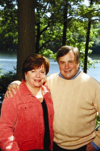 Eileen McGann and Dick Morris
