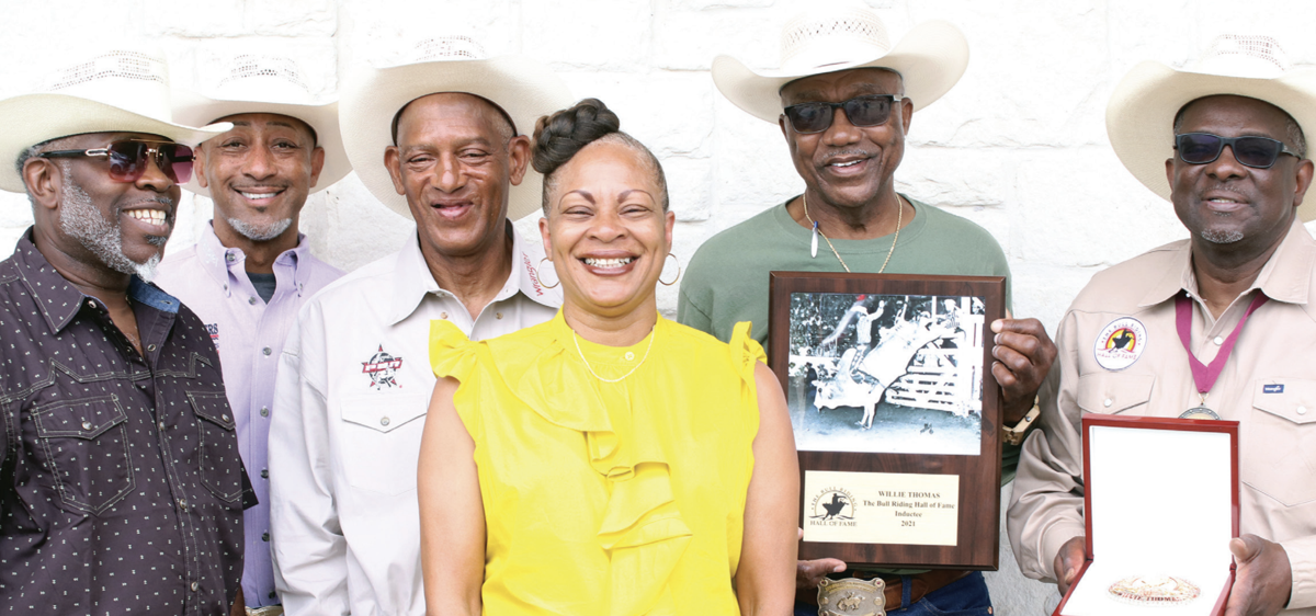 The late Willie Thomas Sr. has finally been inducted into the Bullriders Hall of Fame