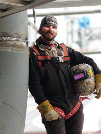 TSTC welding instructor embraces creative side of metalworking