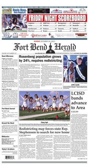 Fort Bend Herald - Sunday, Oct. 23, 2021