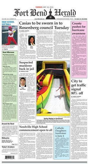 Fort bend herald coaster newspaper