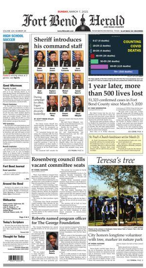 Fort Bend Herald - Sunday, March 7, 2021