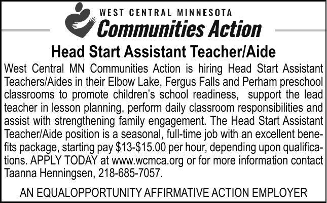 Head Start Assistant Teacher/Aide