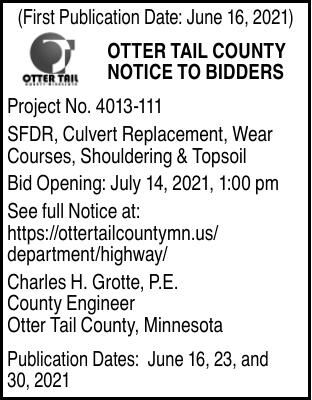 OTC - Notice to Bidders - Culvert Repair