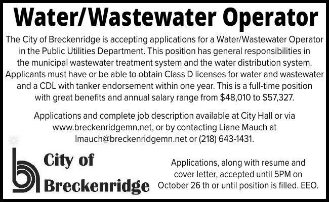 Water/Wastewater Operator