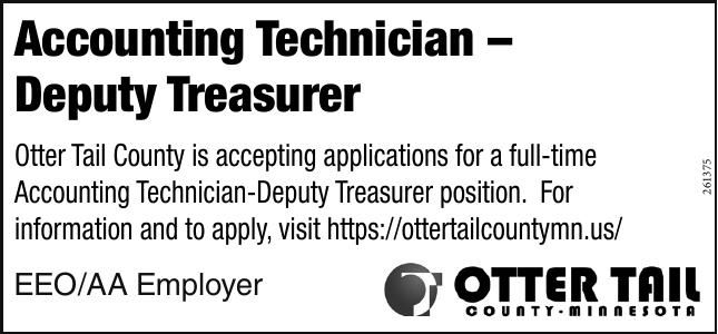 Otter Tail County Accounting Technician