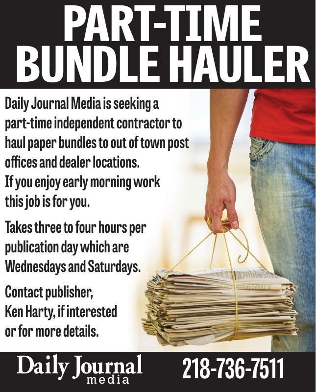 Daily Journal -Bundle Hauler