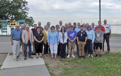 Governor's Fishing Opener 2020 Planning Committee near Otter Tail Lake.