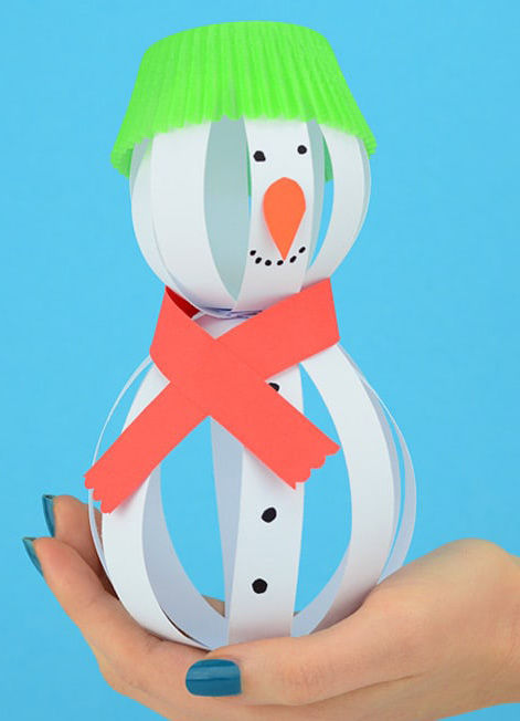 Simple-Snowman-Craft