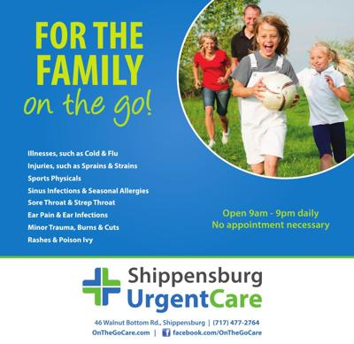 Shippensburg Urgent Care - Ad from 09-04
