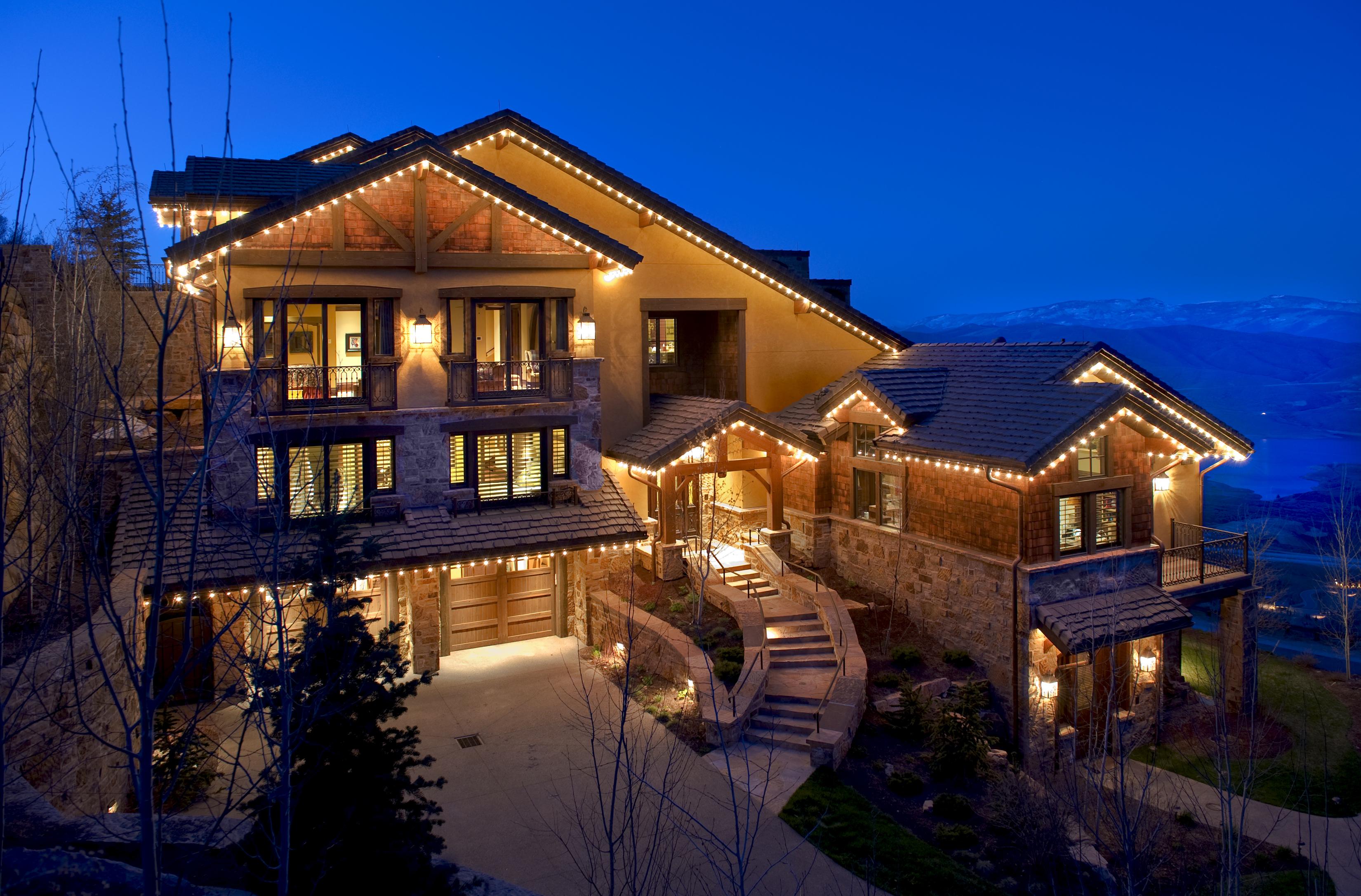 Gorgeous ski chalet created by true craftsmen