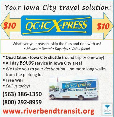 RIVER BEND TRANSIT - Ad from 2016-11-04