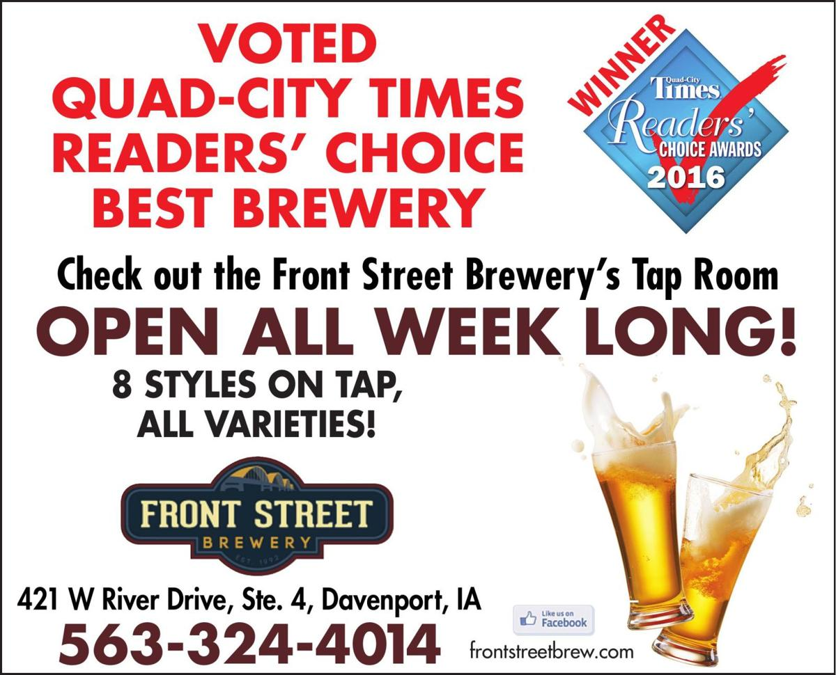 Front St Brewery - Ad from 2016-11-03