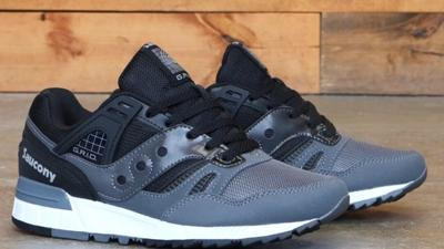 Saucony Gris SD - Black/Grey