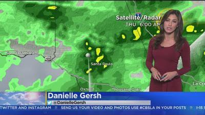 Danielle Gersh's Weather Forecast (March 22)