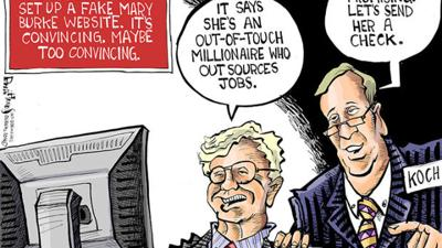 Hands Cartoon: Kochs