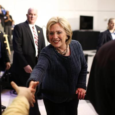 Clinton ready to work helping Americans get back up